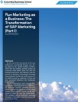 SAP Run Marketing as a Business Part I