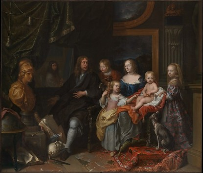 Charles Le Brun (French, Paris 1619–1690 Paris) Everhard Jabach (1618–1695) and His Family, ca. 1660 Oil on canvas; 110 1/4 × 129 1/8 in. (280 × 328 cm) The Metropolitan Museum of Art, New York, Purchase, Mrs. Charles Wrightsman Gift, in honor of Keith Christiansen, 2014 (2014.250) http://www.metmuseum.org/Collections/search-the-collections/626692